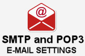 SMTP and POP3 Mail Settings